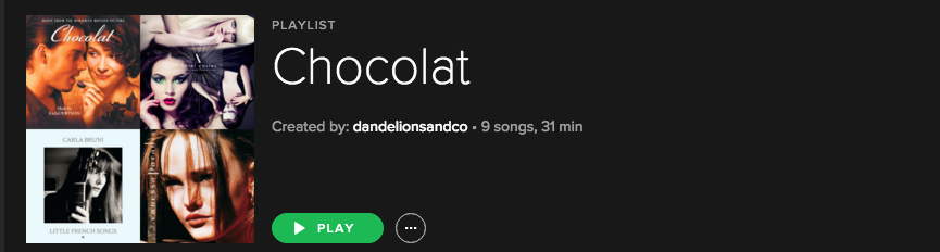 Chocolat Playlist .png